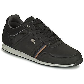Sko Herre Lave sneakers Kappa TYLER Sort