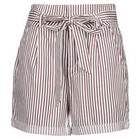 textil Dame Shorts Vero Moda VMEVA Hvid / Brun