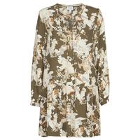 textil Dame Korte kjoler Vero Moda VMSAGA Kaki / Hvid