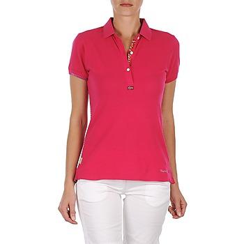 textil Dame Polo-t-shirts m. korte ærmer Napapijri ELINDA Pink