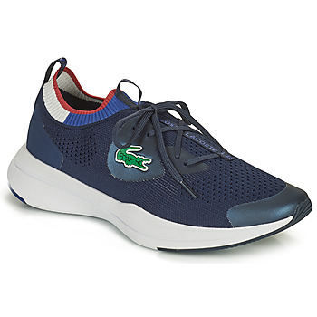 Sko Herre Lave sneakers Lacoste RUN SPIN KNIT 0121 1 SMA Marineblå