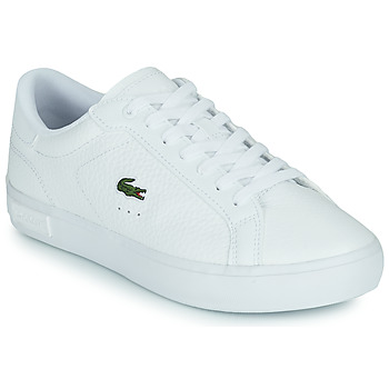 Sko Dame Lave sneakers Lacoste POWERCOURT 0721 2 SFA Hvid