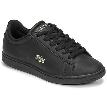 Sko Børn Lave sneakers Lacoste CARNABY EVO BL 21 1 SUJ Sort