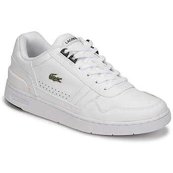Sko Dame Lave sneakers Lacoste T-CLIP 0121 2 SFA Hvid