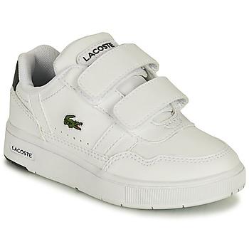 Sko Børn Lave sneakers Lacoste T-CLIP 0121 1 SUI Hvid