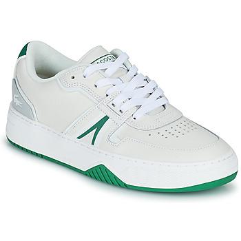 Sko Dame Lave sneakers Lacoste L001 0321 1 SFA Hvid / Grøn