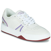 Sko Dame Lave sneakers Lacoste L001 0321 1 SFA Hvid / Violet