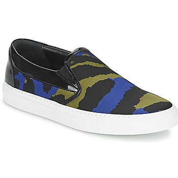 Sko Dame Slip-on Sonia Rykiel Sonia By - Sketch201 Sort / Blå / Kaki