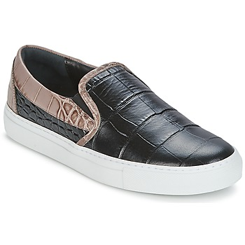 Sko Dame Slip-on Sonia Rykiel Sonia By - Sketch202 Sort / Muldvarpegrå