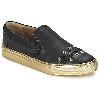 Sko Dame Slip-on Sonia Rykiel MINI ŒILLETS Sort