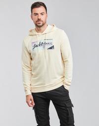 textil Herre Sweatshirts Jack & Jones JORLOGON Beige