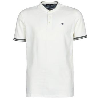 textil Herre Polo-t-shirts m. korte ærmer Jack & Jones JPRBLASTRETCH Hvid