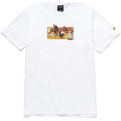 textil Herre T-shirts m. korte ærmer Huf T-shirt dhalsim ss Hvid