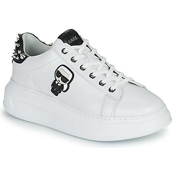 Sko Dame Lave sneakers Karl Lagerfeld KAPRI KARL IKONIC STUD TAB Hvid