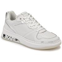 Sko Dame Lave sneakers Karl Lagerfeld ELEKTRA LAY UP LO Hvid