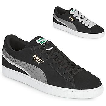 Sko Herre Lave sneakers Puma SUEDE TRIPLEX Sort / Grå