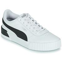 Sko Dame Lave sneakers Puma CARINA Hvid / Sort