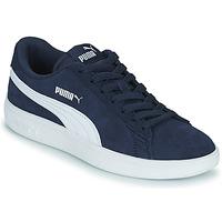Sko Børn Lave sneakers Puma SMASH JR Blå