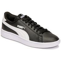 Sko Børn Lave sneakers Puma SMASH JR Sort