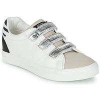 Sko Dame Lave sneakers Le Temps des Cerises VIC Hvid / Sølv