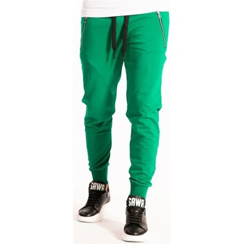 textil Herre Træningsbukser Takeshy Kurosawa  Grøn