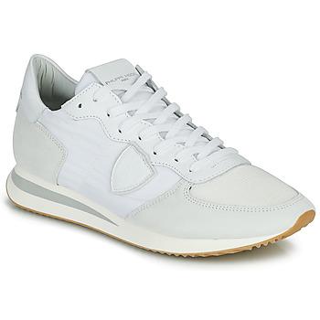 Sko Herre Lave sneakers Philippe Model TRPX LOW BASIC Hvid