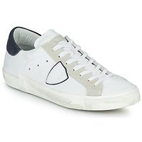 Sko Herre Lave sneakers Philippe Model PRSX LOW MAN Hvid