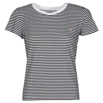 T-shirts m. korte ærmer Guess  ES SS GUESS LOGO BABY TEE