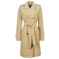 textil Dame Trenchcoats Guess SUSAN TRENCH Beige