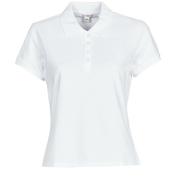 textil Dame Polo-t-shirts m. korte ærmer Guess ES SS GUESS LOGO PIQUE POLO Hvid