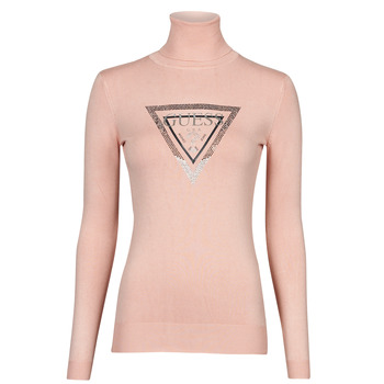 textil Dame Pullovere Guess ADELLE TN LS SWTR Pink