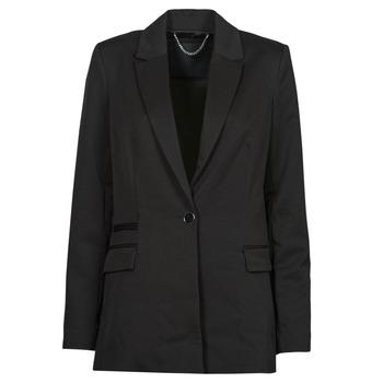 textil Dame Jakker / Blazere Guess AIDA JACKET Sort