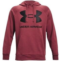 textil Herre Sweatshirts Under Armour Rival Fleece Big Logo HD Bordeaux