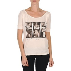 textil Dame T-shirts m. korte ærmer Bench CREEPTOWN Pink