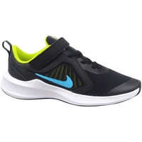 Sko Børn Lave sneakers Nike Downshifter 10 Sort