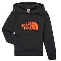 textil Dreng Sweatshirts The North Face DREW PEAK HOODIE Sort