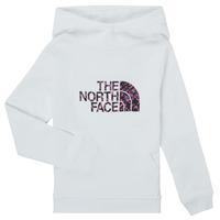 textil Pige Sweatshirts The North Face DREW PEAK HOODIE Hvid