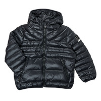 textil Dreng Dynejakker Emporio Armani EA7 FHALIA Sort