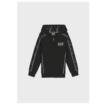 textil Dreng Sweatshirts Emporio Armani EA7 MANTHA Sort