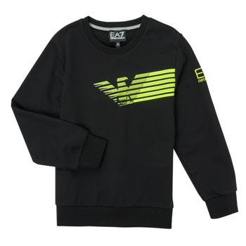 textil Dreng Sweatshirts Emporio Armani EA7 SOLIR Sort