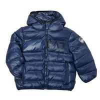 textil Dreng Dynejakker Emporio Armani EA7 TREDA Marineblå
