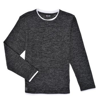 textil Dreng Langærmede T-shirts Deeluxe MONAN Sort