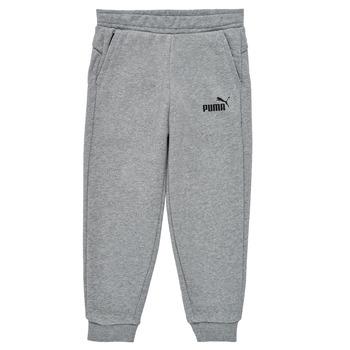 textil Dreng Træningsbukser Puma ESSENTIAL SLIM PANT Grå
