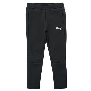 textil Dreng Træningsbukser Puma EVOSTRIPE PANT Sort