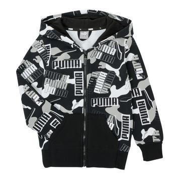 textil Dreng Sweatshirts Puma ALPHA AOP FZ Sort