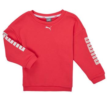 textil Pige Sweatshirts Puma ALPHA CREW SWEAT Pink