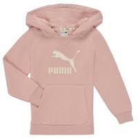 textil Pige Sweatshirts Puma T4C HOODIE Pink