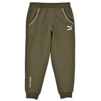 textil Dreng Træningsbukser Puma T4C SWEATPANT Kaki