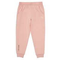 textil Pige Træningsbukser Puma T4C SWEATPANT Pink