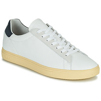 Sko Herre Lave sneakers Clae BRADLEY CALIFORNIA Hvid / Blå